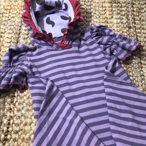 Persnickety Hooded Couture Dress Sz 2 Years